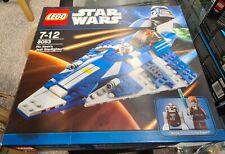 LEGO  Star Wars - 8093 - Plo Koon's Jedi Starfighter with Manual & Figures & Box