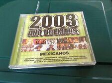 2003 Ano De Exitos CD Factory Sealed
