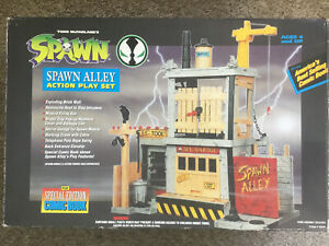 Todd Toys McFarlane's SPAWN ALLEY Vintage Action Playset