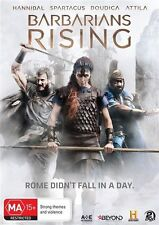 Barbarians Rising (DVD, 2016, 2-Disc Set) Mint Condition