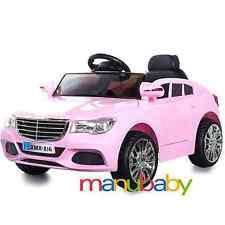 MERCEDES C: auto elettrica bambini + radiocomando / macchina bimbi telecomandata