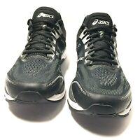 Asics GT 2000 7 Men Running Lightweight Shoes Black White 1011A158 Size 13 Us