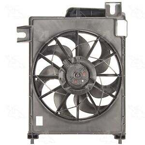 For Dodge Ram 1500 2500 3500 4000 A/C Condenser Fan Assembly Four Seasons 75565