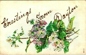 C51-6231, GREETINGS FROM, DAYTON, OHIO. Post Card.