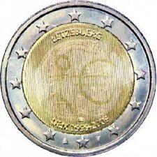 Luxembourg / Luxemburg - 2 Euro 10th anniversary of Economic and Monetary Union