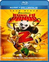Kung Fu Panda 2 (Blu-ray + DVD + Digital Copy) New Blu