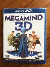 Megamind Blue Ray 3D Promotional Brand NEW!