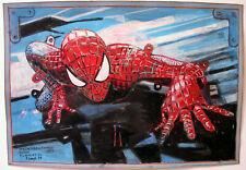 """Peter Sengl """"Spiderman aus Schneidebogen"""""""