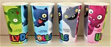 Ugly Dolls 2019 Movie Theater Exclusive Four 44 oz Plastic Reusable Cups