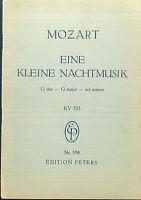 Taschenpartitur Mozart : Eine kleine Nachtmusik G-Dur K.-V. 525