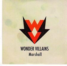 (EL171) Wonder Villains, Marshall - 2014 DJ CD
