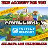 Minecraft Java Edition: Premium Account + GIFT | FULL ACCESS | REGION FREE