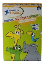 Learn & Play, Hooked On Phonics, Colors-Numbers-Shapes, Super Activity Kit 3Pack