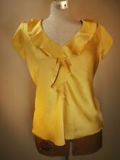 Alison Taylor Women's Clothing Top Blouse Yellow Business PROFESSIONAL Fashion