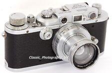 Leica IIIa LEITZ afoov + Summar F = 5cm 1:2 lens MADE BY LEITZ WETZLAR nel 1935