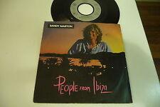 SANDY MARTON 45T PEOPLE FROM IBIZA. ARIOLA 106 797 .