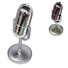 Gold 3.5 mm Desktop Microphone MIC for PC Computer Laptop Mac Desktop karaoke