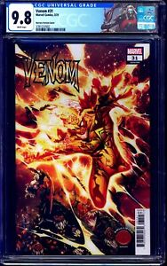 Venom #31 KNULLIFIED HUMAN TORCH COVER CGC 9.8 CUSTOM KNULL LABEL NM/MT