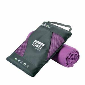 Rainleaf Beach Towel Gym Travel Microfiber Fast Drying Super Absorbent Camping..