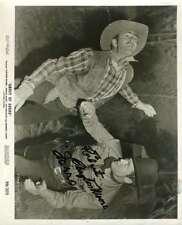 CLAYTON MOORE Hand Signed PSA DNA COA ZORRO 8x10 Photo Autographed Authentic