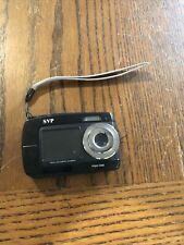SVP Aqua 5500 18MP DUAL SCREEN Waterproof Digital Camera Black