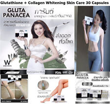 Gluta Pancea L-Glutathione Fish Collagen Vitamin Whitening Skin Care Wrinkle
