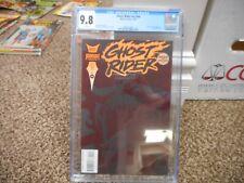 Ghost Rider 44 cgc 9.8 Marvel 1993 V2 MINT WHITE pgs BLACK cover Doctor Strange