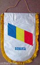 ✅Gagliardetto Calcio ROMANIA Mondiali Francia 1998-vintage-pennant wimpel fanion