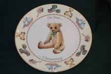 ROYAL WORCESTER/Jenny Barnard ON YOUR CHRISTENING Plate