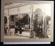 OUTSTANDING ORIENTAL CURIOSITY SHOP PARIS  CAIRO SEPIA CABINET  PHOTO 1900s#8385