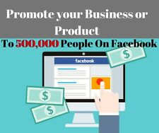 I Will Promote Your Business / Product to 500,000 People On Facebook
