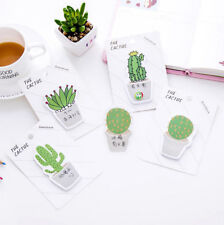 Cactus Sticker Post It Bookmark Marker Memo Pads Index Sticky Notes Guestbook