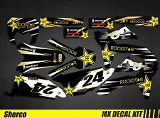 Kit Déco Moto / Mx Decal Kit Sherco 50 - Bud