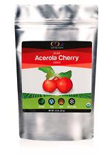 Optimally Organic Acerola Cherry Powder - Pure, Raw, Freeze Dried 1/2 Lb