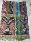 wholesale 20 pashmina scarves shawls paisley floral butterfly thick warm