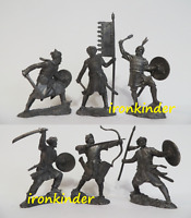 Saracens tin alloy collectible Toy metal soldier Publius 54mm 1/32