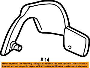 FORD OEM 01-05 Explorer Sport Trac Front Seat-Inner Cover Left XL2Z7862186DDD