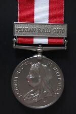 SILVER CANADIAN GENERAL SERVICE MEDAL.( FENIAN RAID 1870)