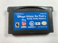 Disney's Winnie the Pooh: Rumbly Tumbly Adventure Game Boy Advance GBA Cart