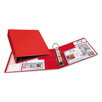 """Avery Heavy-Duty Binder with One Touch EZD Rings 11 x 8 1/2 2"""" Capacity Red"""