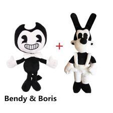 2Pcs/Set Bendy and the ink machine Bendy & Boris Toy Figure Plush Doll XMAS 12''