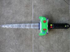 "16"" rare Japanese Toy Story Buzz Lightyear Light Up Sword. Tokyo Disneyland"