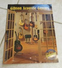 2001 Gibson Acoustic Guitar CATALOG V2, #1 full color 18 pages