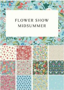 *NEW* - LIBERTY OF LONDON- FLOWER SHOW MID SUMMER 100% COTTON QUILTING FABRIC