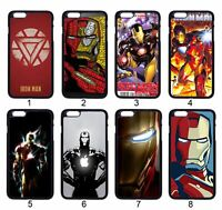 IRON MAN Avengers Comic For iPhone iPod Samsung LG Motorola SONY HTC HUAWEI Case