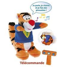 Peluche Animée Tigrou Super Détective Télécommande  Fisher Price Disney