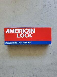 Free shipping American Lock series 1100 A1107kared w 2 keys