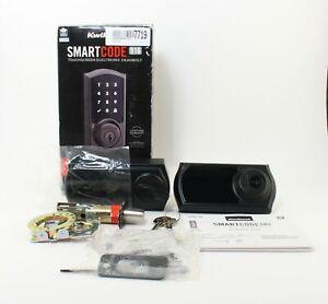 Kwikset Smart Code 916 Touchscreen Electronic Deadbolt; 6107719