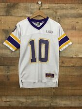 LSU Tigers Colosseum SEC NCAA College Youth M 12-14 Football Jersey #10 TH26