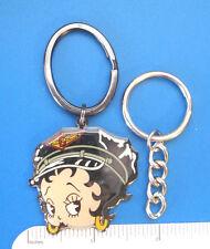 BETTY  BOOP  Biker Betty Face -  keychain  key chain GIFT BOXED